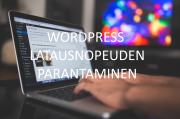 WordPress latausnopeuden parantaminen