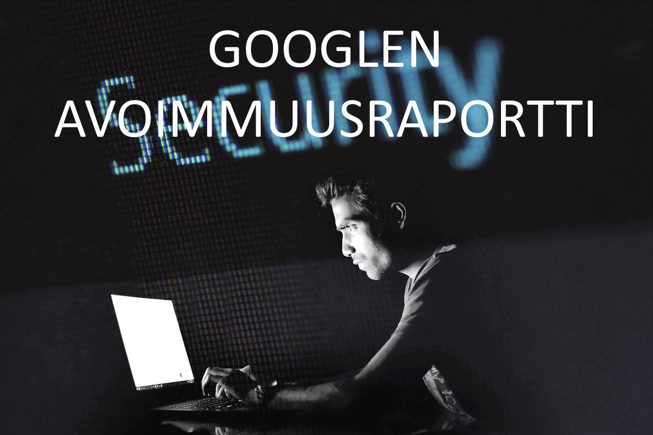 AXNDatan SEO tykalut - Googlen avoimuusraportti