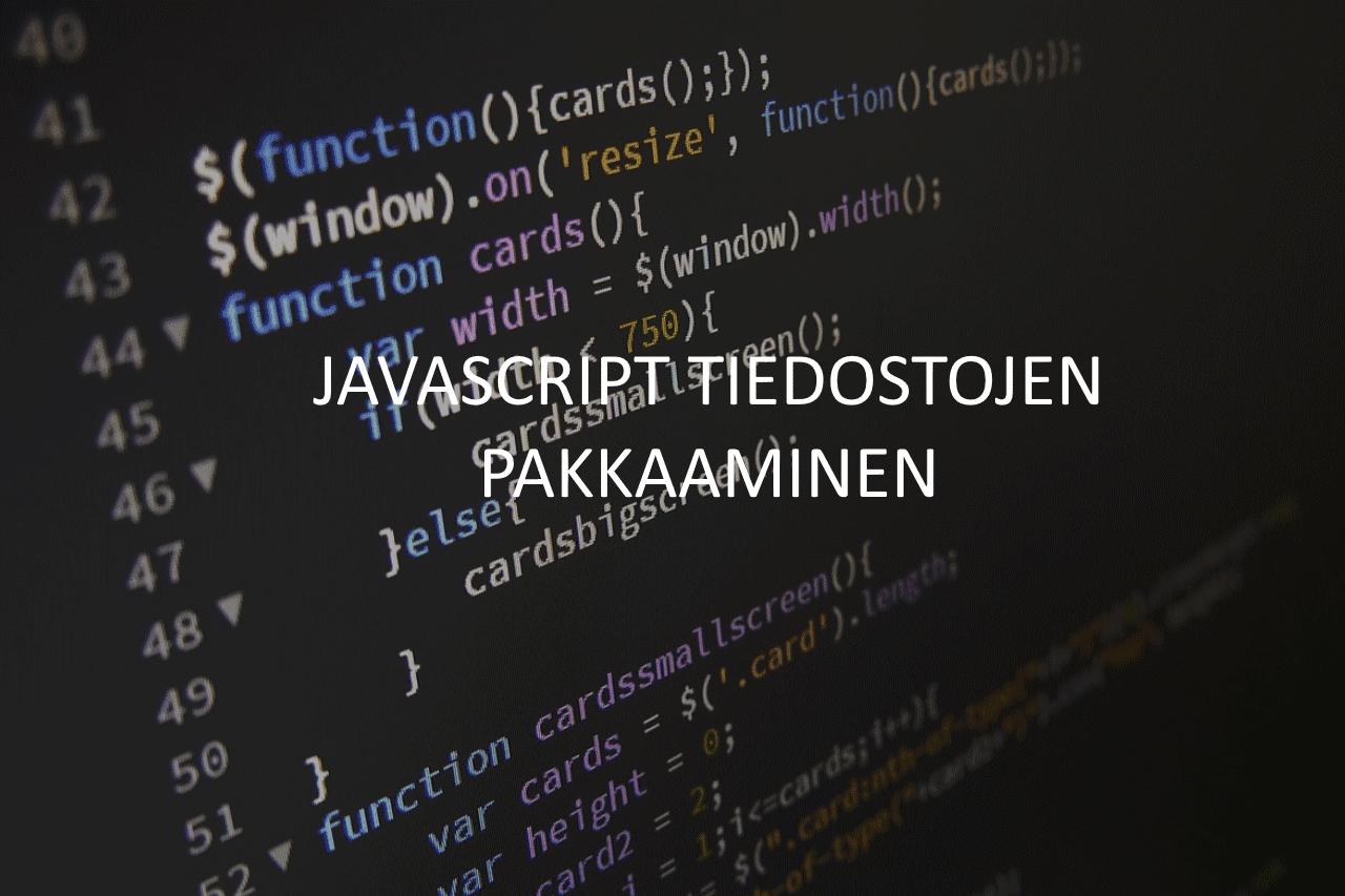 AXNDatan SEO tykalut - Javasript tiedostojen pakkaaminen