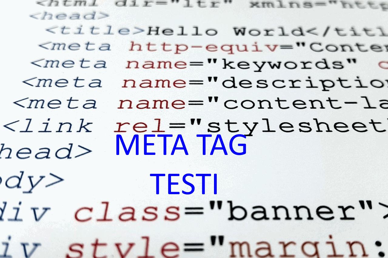 AXNDatan SEO tykalut - Meta tag testi