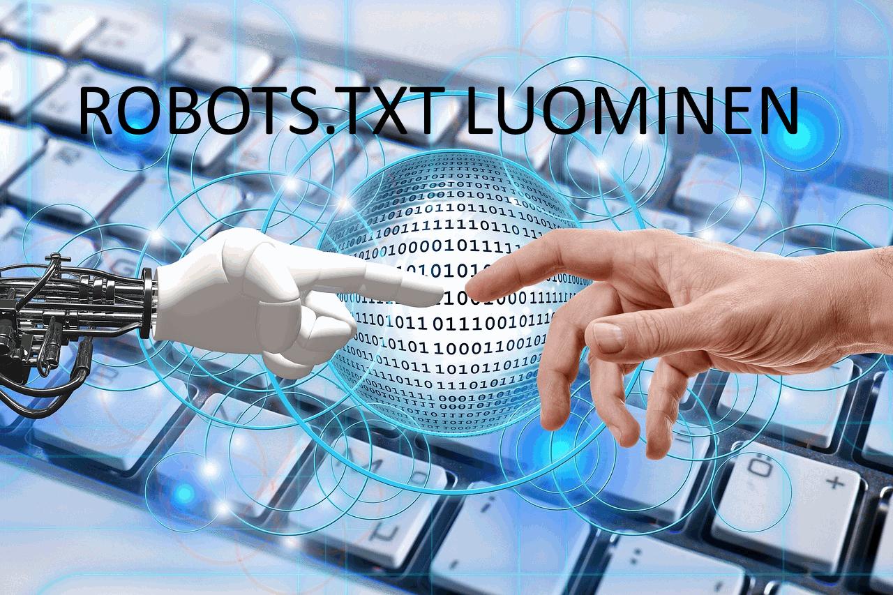 AXNDatan SEO tykalut - Robots.txt luominen
